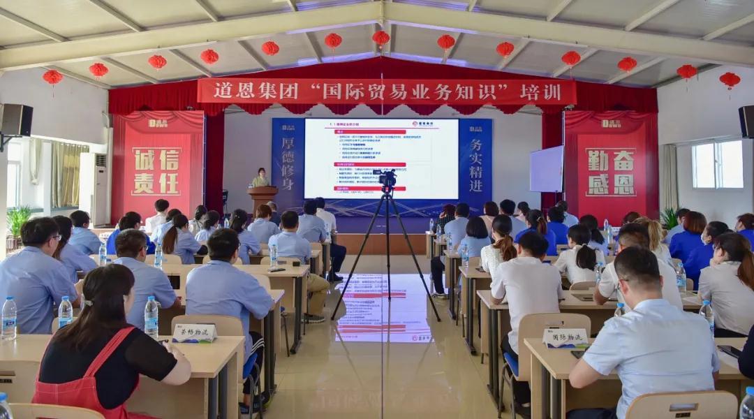 国贸业务知识培训,助力道恩国际市场竞争力